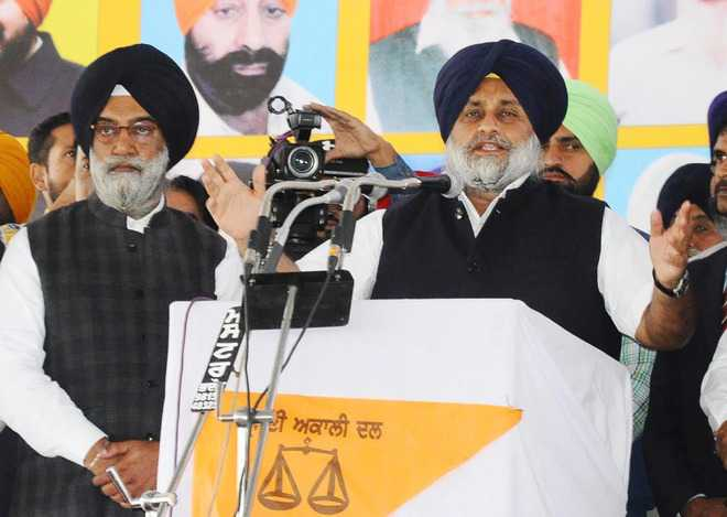 In a first, Badals to lend might to BJP campaign