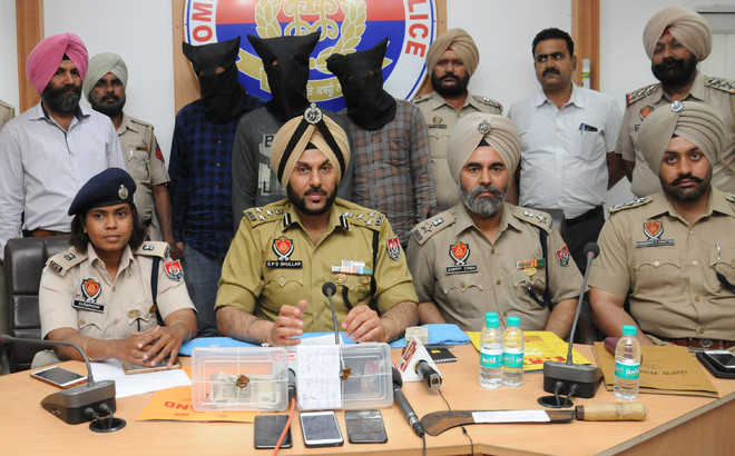 Minor, kin among four arrested for extortion