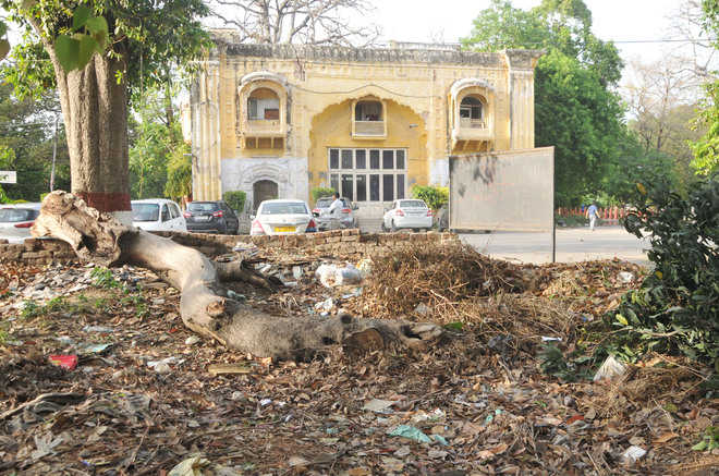 Centuries-old monuments remain neglected in city