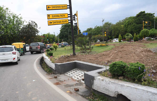Civic body tinkers with design of roundabouts, locals sulk