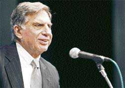 Wadia's defamation case fallout of corporate dispute: Ratan Tata