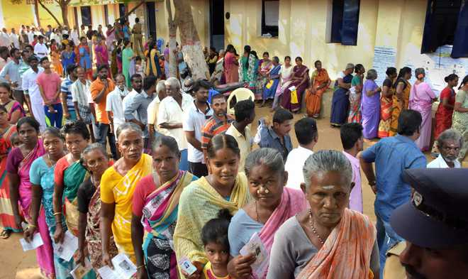67.8 per cent turnout in phase 2 of Lok Sabha elections