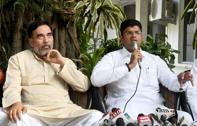 LS polls: AAP, JJP go without Cong in Haryana