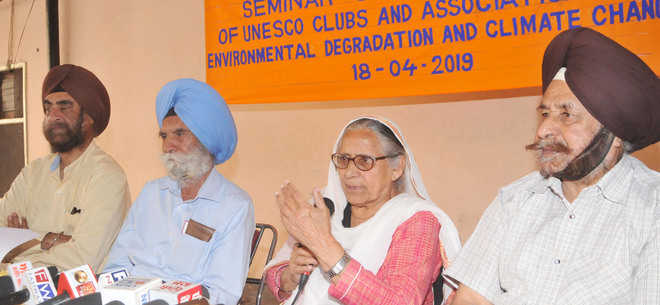 UNESCO clubs' conference on climate change