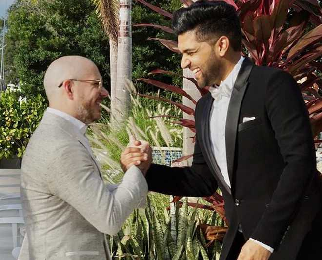 Guru Randhawa collaborates with American rapper Pitbull for new track