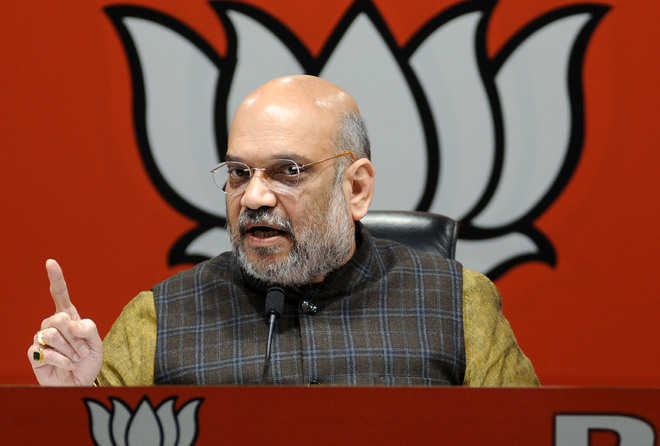 Debate with our youth wing chief, Amit Shah taunts Rahul Gandhi