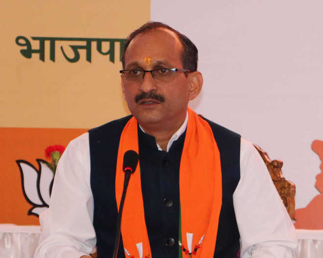 EC bars state BJP chief Satti from campaigning for 48 hrs
