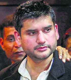 Tiwari's son was strangled, says autopsy report