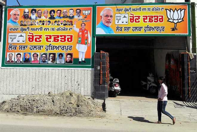 Claims, counter-claims on BJP candidate hot up