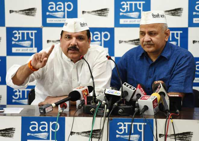 Alliance with Congress just in Delhi not possible: Aam Aadmi Party