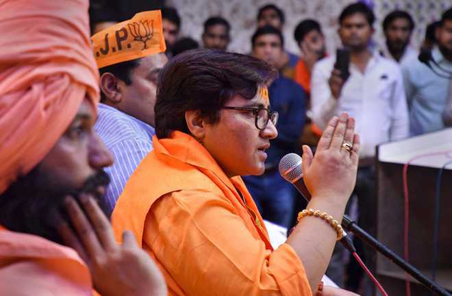 EC issues notice to Pragya Thakur on her remarks against Karkare