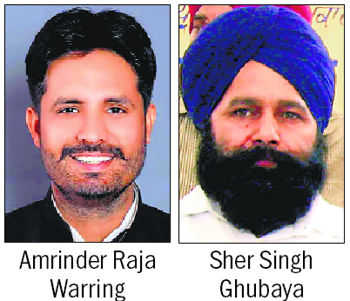 Raja Warring Cong's Bathinda pick, Ghubaya from Ferozepur