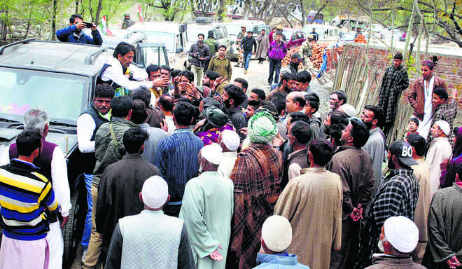 Polling 2 days away, Anantnag hardly enthused