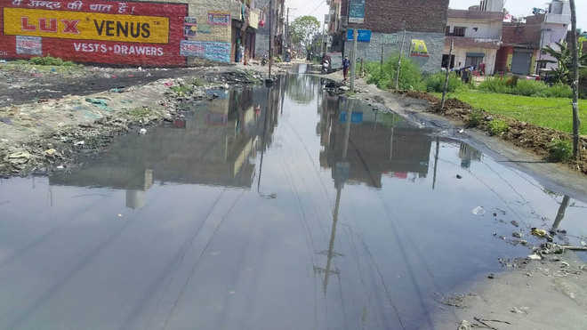 Overflowing sewers on residents' mind