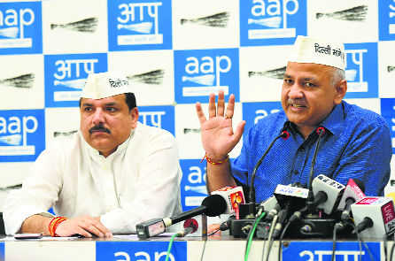 Alliance with Cong not possible in Delhi: AAP