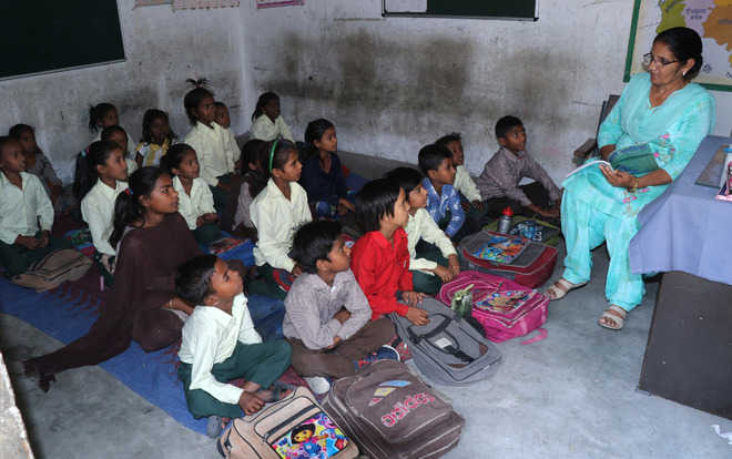 Govt school students await books in new session