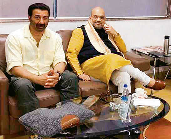 Sunny Deol meets Shah