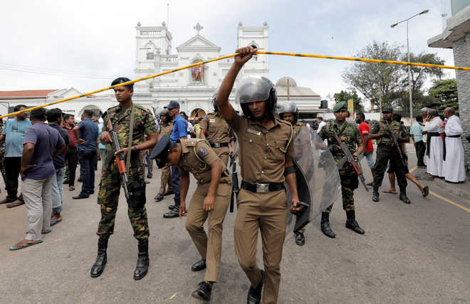 Sri Lanka police had also warned of attacks on Indian high commission