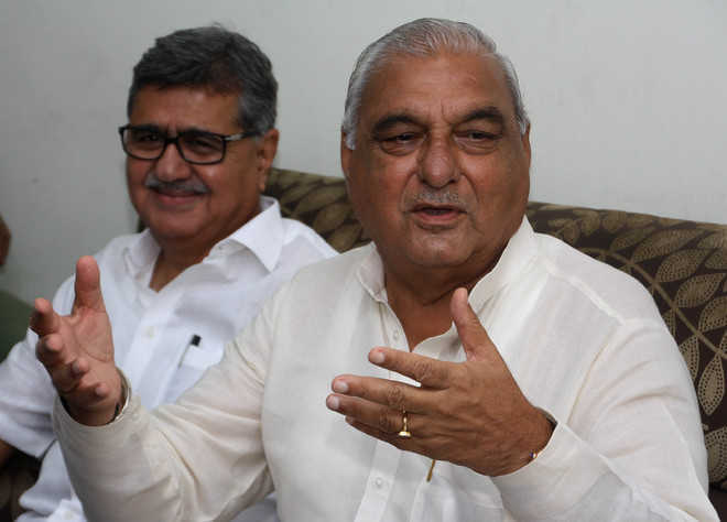 Congress names former CM Bhupinder Hooda from Sonepat