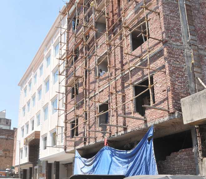 MC blamed for illegal constructions