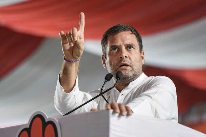Rahul Gandhi regrets remarks referring to SC Rafale order