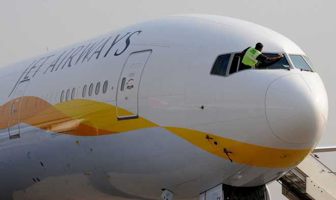 Further tailspin for Jet Airways; shares tank over 23 pc