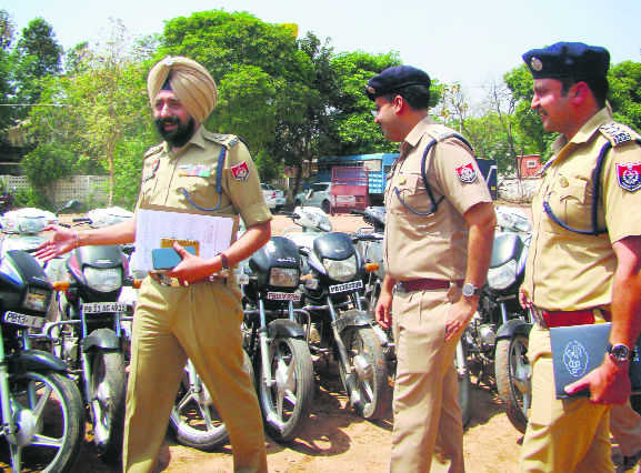 Two-wheeler thief held, 52 vehicles recovered