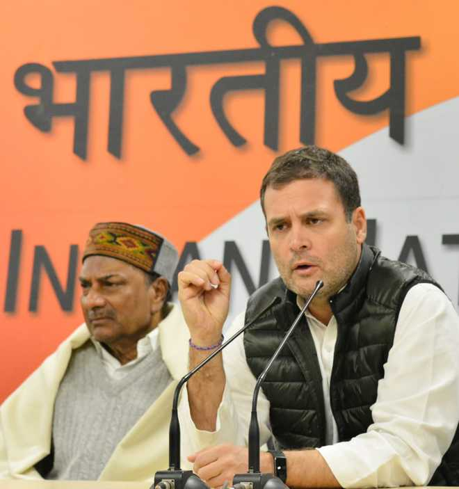 I want to do justice in next five years: Rahul Gandhi