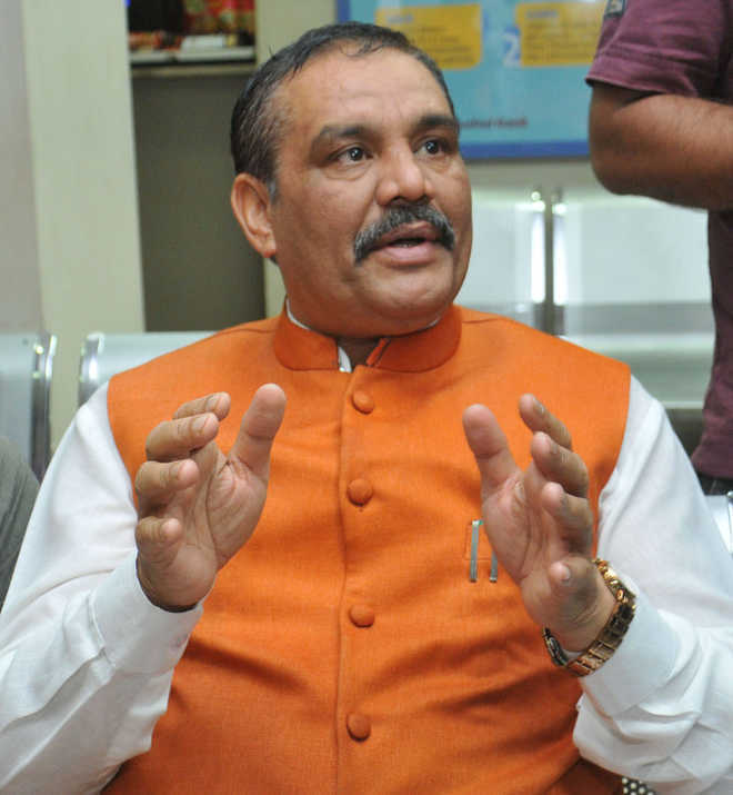 Denied renomination, MoS Sampla says BJP committed 'cow slaughter'