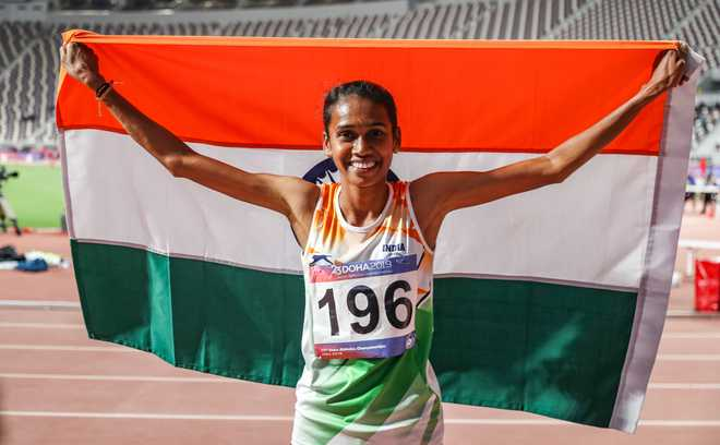 PU Chitra gives 3rd gold for India in Asian Athletics Championships