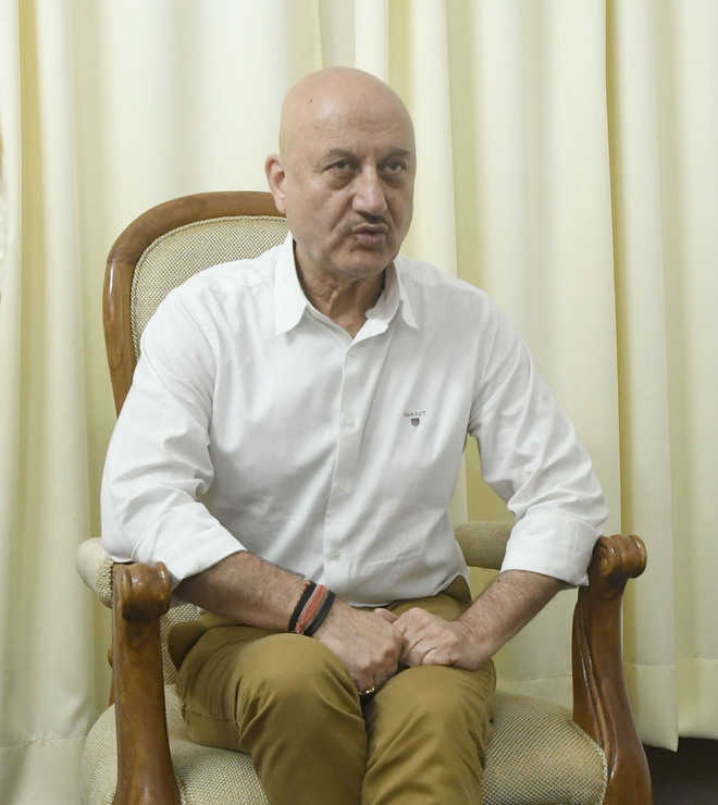 Kirron a committed person, shifted base to city: Anupam Kher