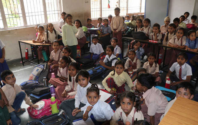 1,000 new admissions, Adarsh school now grapples with space, staff crunch