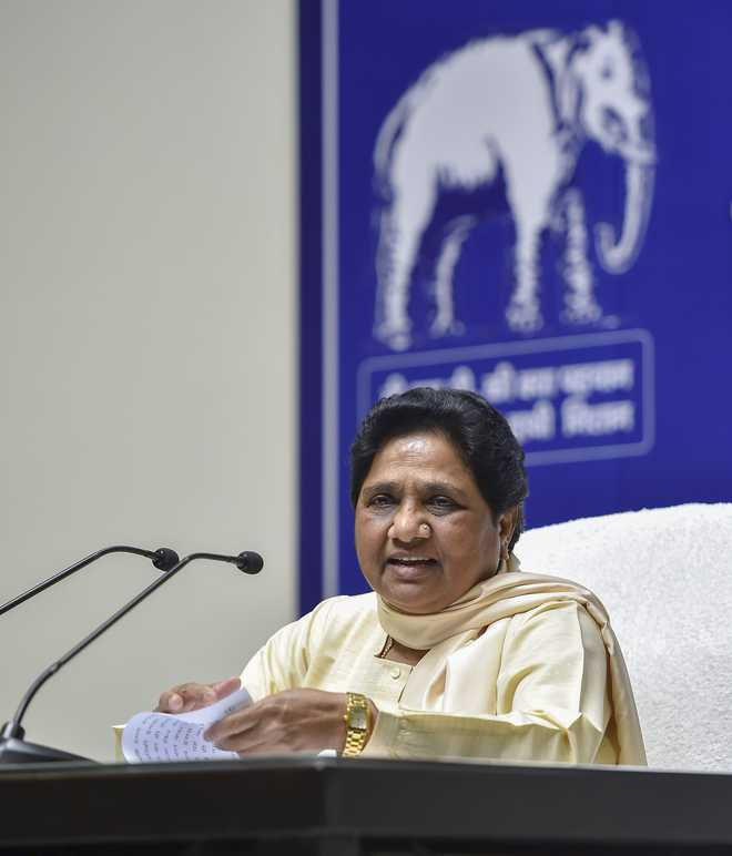 For poll gains, Modi included his caste in backward category in Gujarat: Mayawati