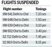 Jet, set, stuck: Flights grounded