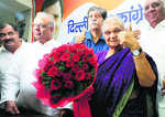 Sheila Dikshit inaugurates poll control room