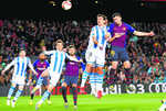 Barca on brink after tight win