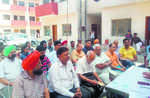 Bibi Bhani Complex residents protest lack of basic amenities