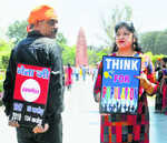 Meerut couple marches against rising population