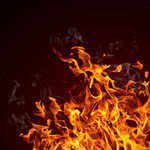 Truck carrying cash catches fire in Anantnag district