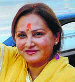 Jaya Prada booked for Azam barb