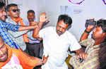 Man 'thrashed' for showing black flag to Pragya Thakur