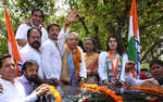 Pawan Bansal files nomination papers from Chandigarh