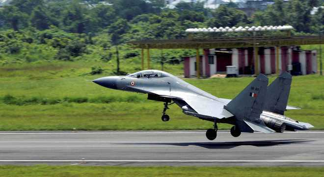 IAF tests ability to take off from civil airports in eastern India