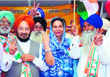 Workers' union leader Tohra joins Congress