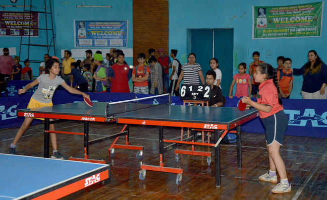 Vani, Manal set up title clash in cadet category