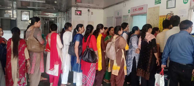 Civil hospital staff boycott biometric attendance