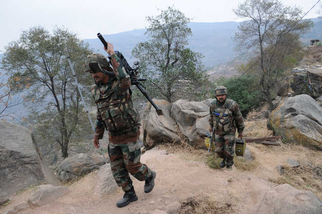 Army officer among two injured in Pak firing along LoC