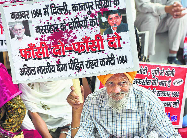Polls come & go, but '84 riots issue simmers