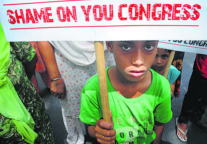 Sikhs hold protest; demand Pitroda's ouster from Congress