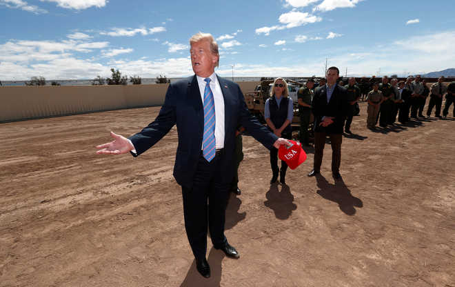 US shifts $1.5bn to border wall from Afghan war budget